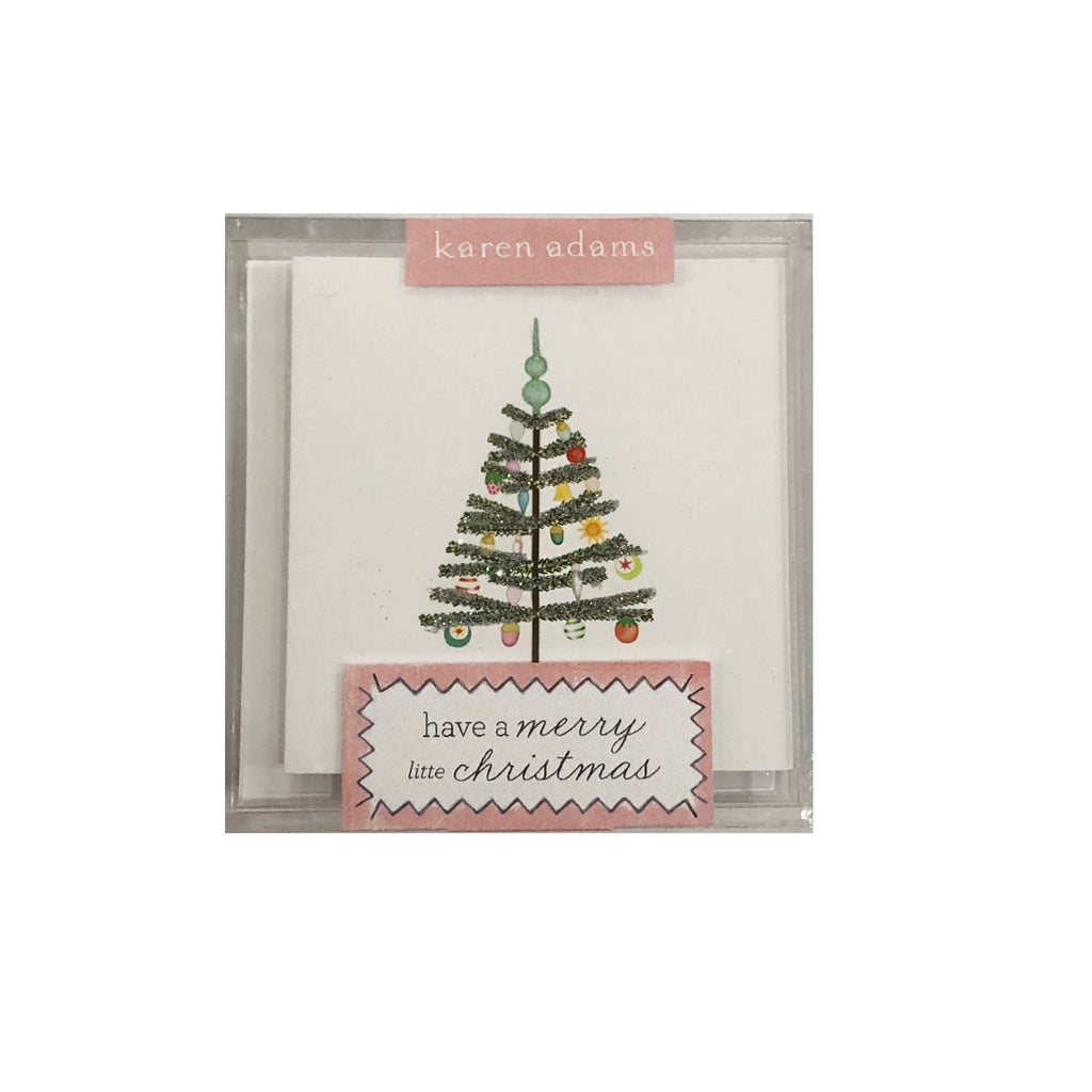 Boxed Gift Enclosures | Have a Merry Little Christmas