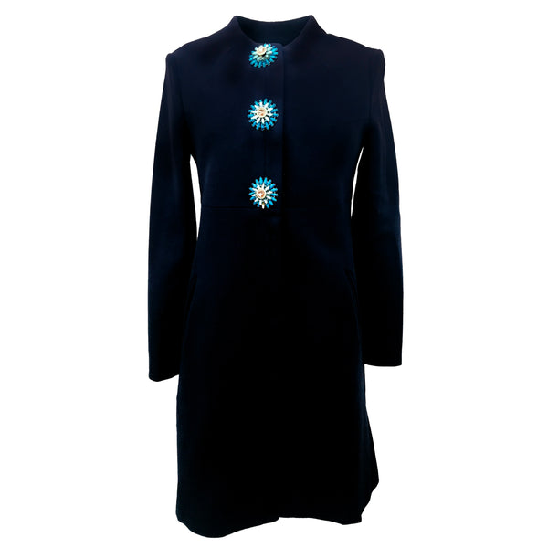 Dorothy Coat | Rich Navy
