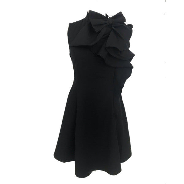 Lucy Bow Dress | Black