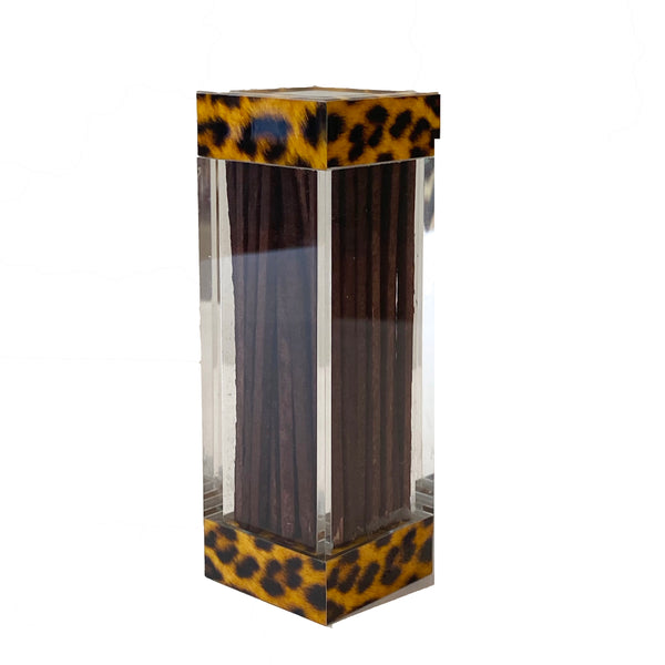 Acrylic Boxed Matches | Leopard