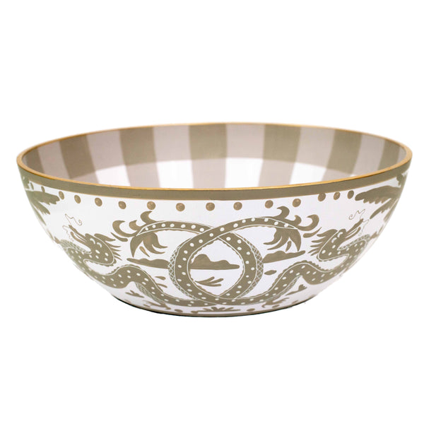 Milly & Lilly Taupe Dragon Bowl | Small-Jayes-The Grove