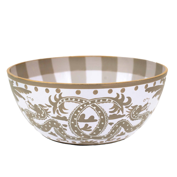 Milly & Lilly Taupe Dragon Bowl | Large-Jayes-The Grove