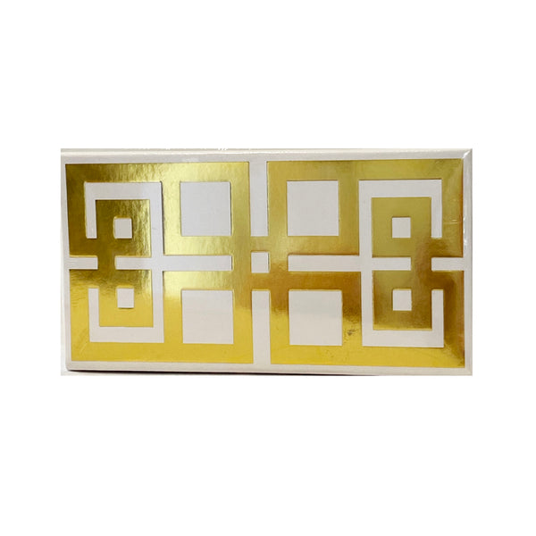 Matchbox | White Greek Key