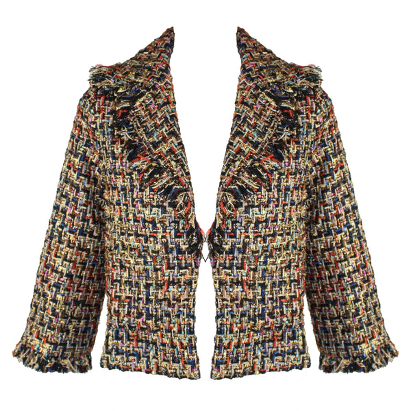 Kaleidoscope Cropped Jacket