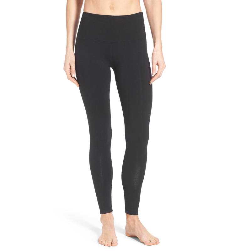 Black High Waisted Legging-Lysse-The Grove