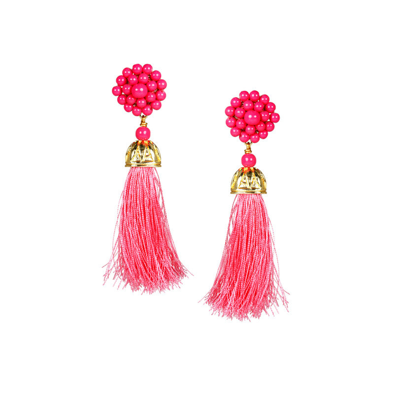 Lisi Lerch Coco Tassel Earrings - thegrovewp