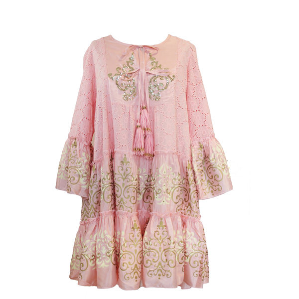 Dreamer Dress | Peach & Pink