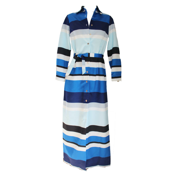 Monteith Caftan | Lexington Stripe