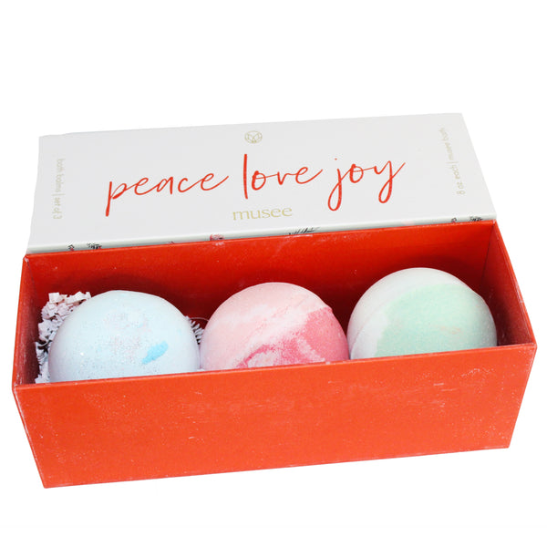Peace, Love, Joy Bath Balm Gift Set