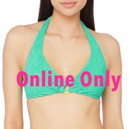 Cascais Wave O-Ring Halter Bikini Top