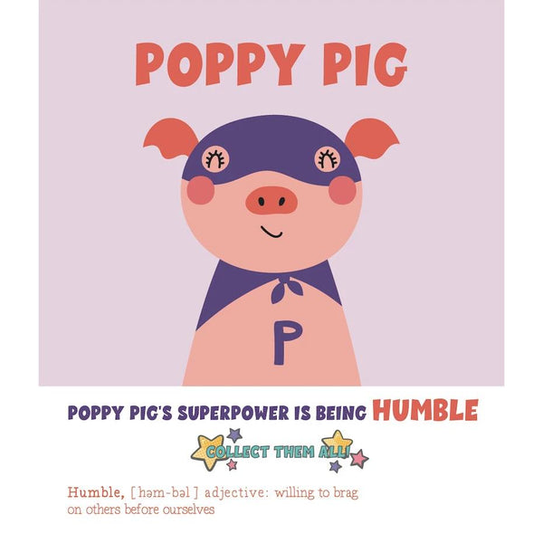 Kid's Painting Kit | Superhero Pig