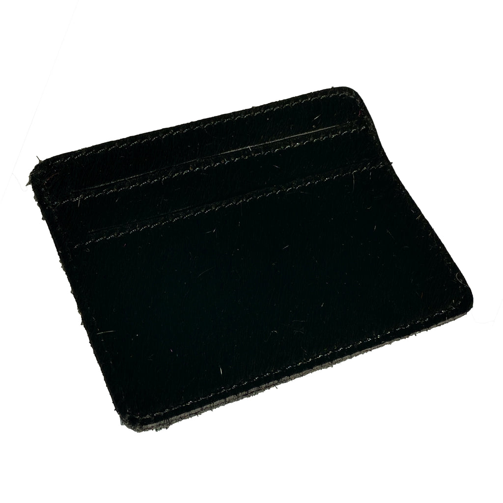 Cowhide Card Wallet | Black