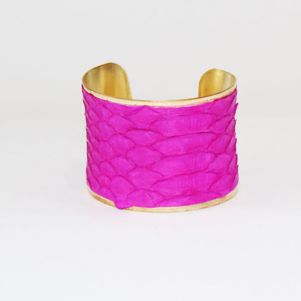 Python Cuff | Hot Pink-Parker & Hyde-The Grove