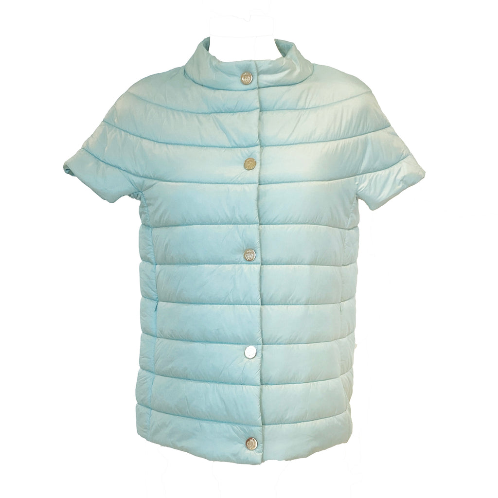 Audrey Puffer Vest | Icy Blue