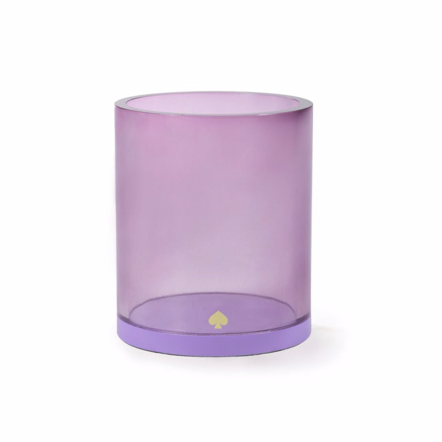 Pencil Cup | Colorblock Purple
