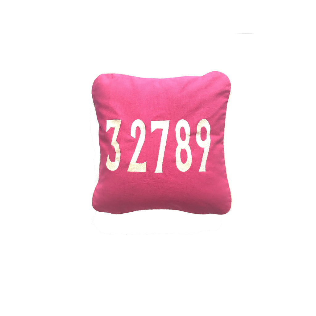 EDW Designs 32789 Pink Square Zip Pillow - thegrovewp