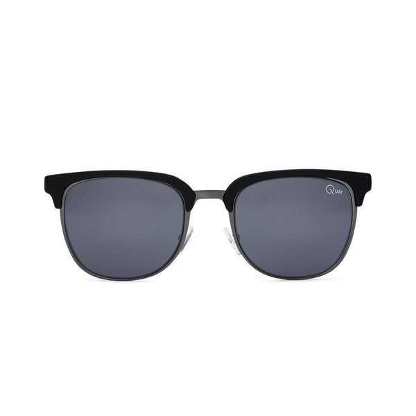 Flint Sunnies | Black & Smoke