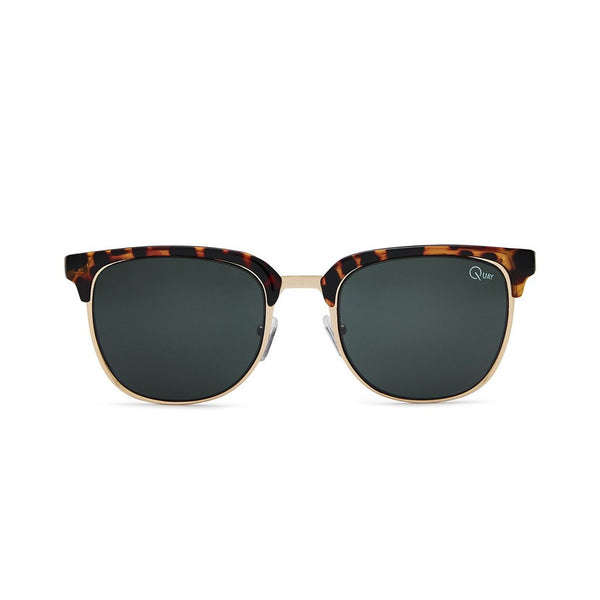 Flint Sunnies | Tortoise & Green