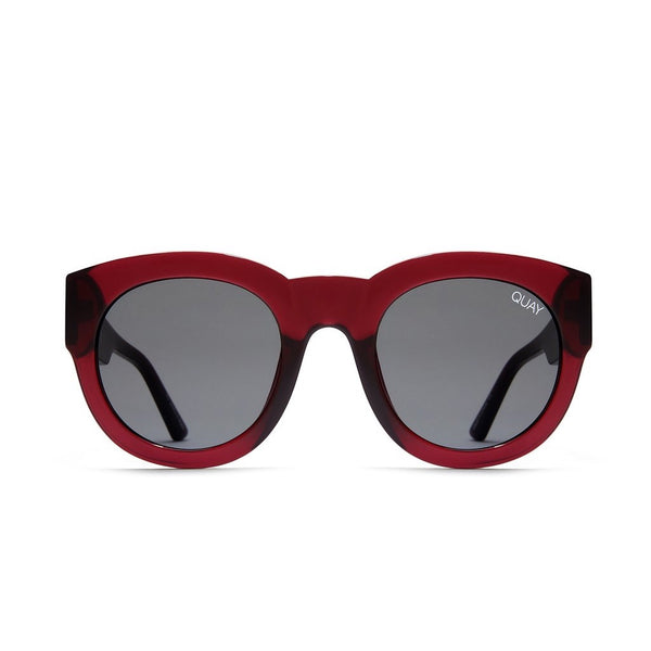 If Only Sunnies | Red & Smoke