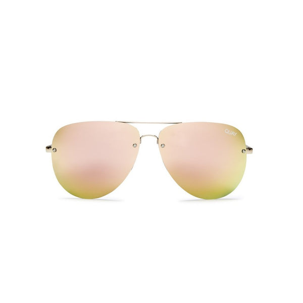 Muse Sunnies | Gold & Pink