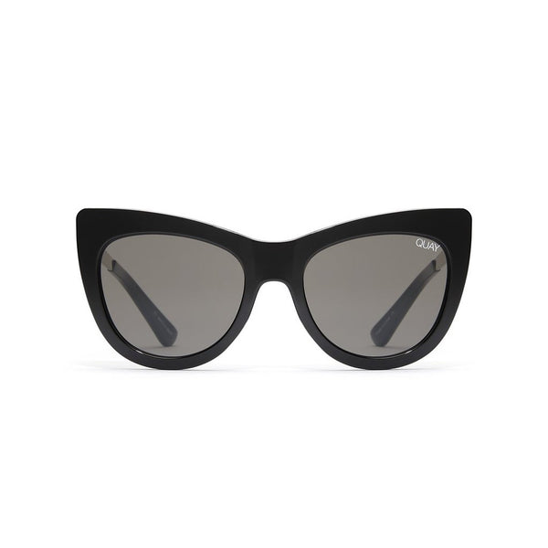 Steal A Kiss Sunnies | Black & Smoke