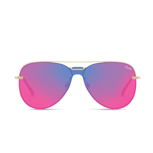Notorious Sunglasses | Gold & Pink