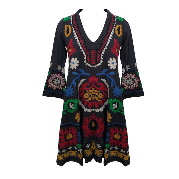Mara Embroidered Dress