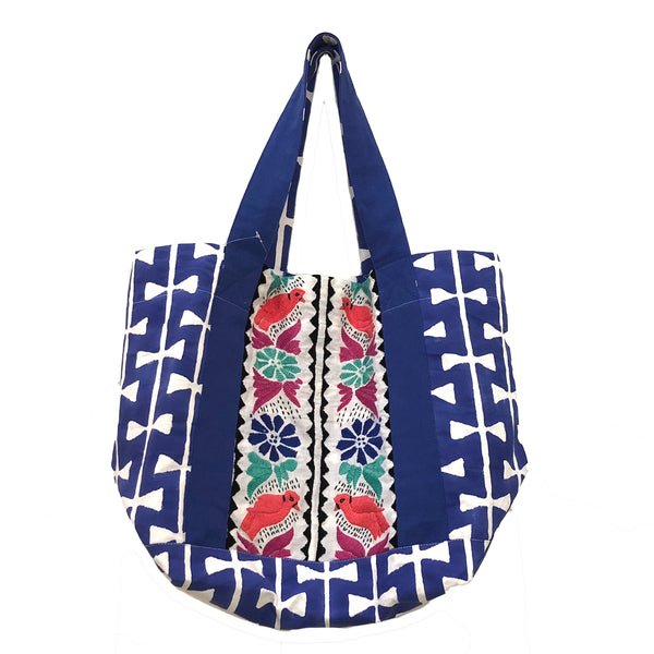 Milla Embroidered Beach Bag