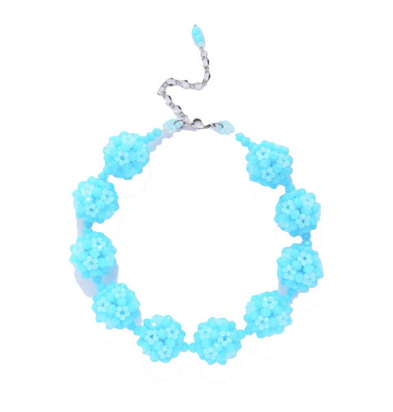 Sevilla Tiered Ball Necklace | Turquoise