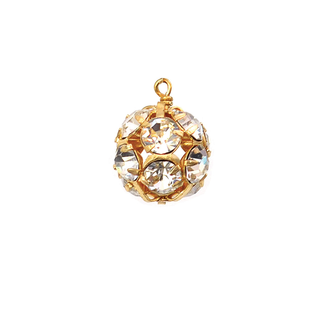 Rhinestone Ball Charm | Mini-Moon & Lola-The Grove