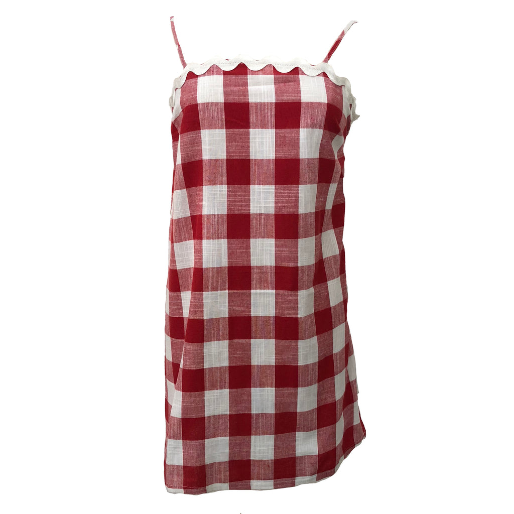 Picnicking Scallop Dress