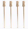 Drink Stirrers | Gold Pineapple