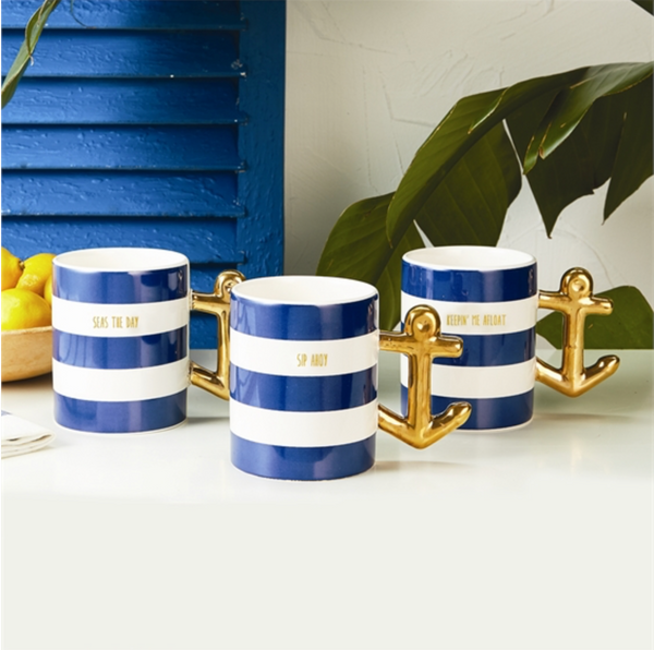 Golden Anchor Mug