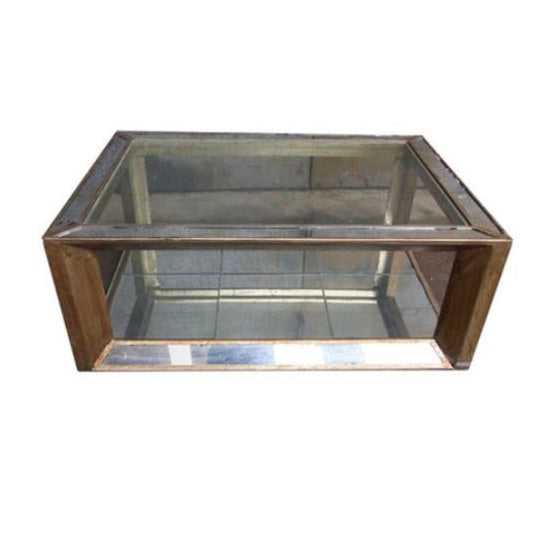 Reed Mirrored Table