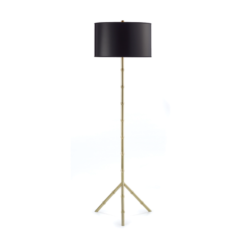 Julian Bamboo Floor Lamp-Napa Home-The Grove