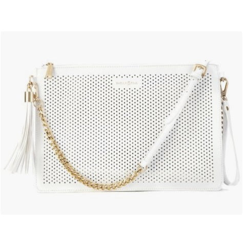Penelope Clutch | White