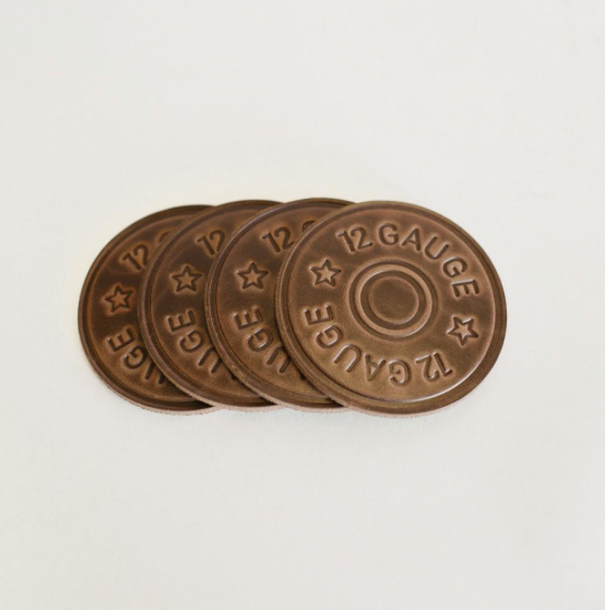 12 Gauge Coasters-Clayton & Crume-The Grove