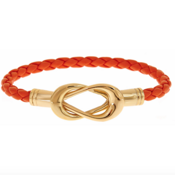 Sailor's Knot Bracelet | Orange