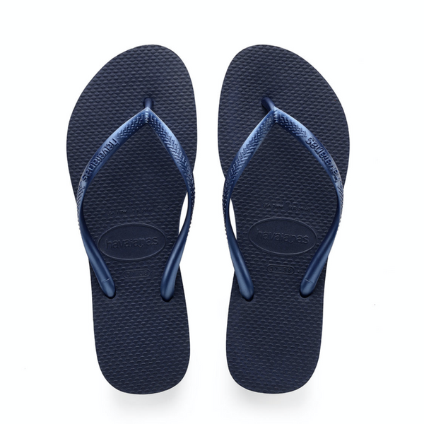 Slim Sandal | Navy