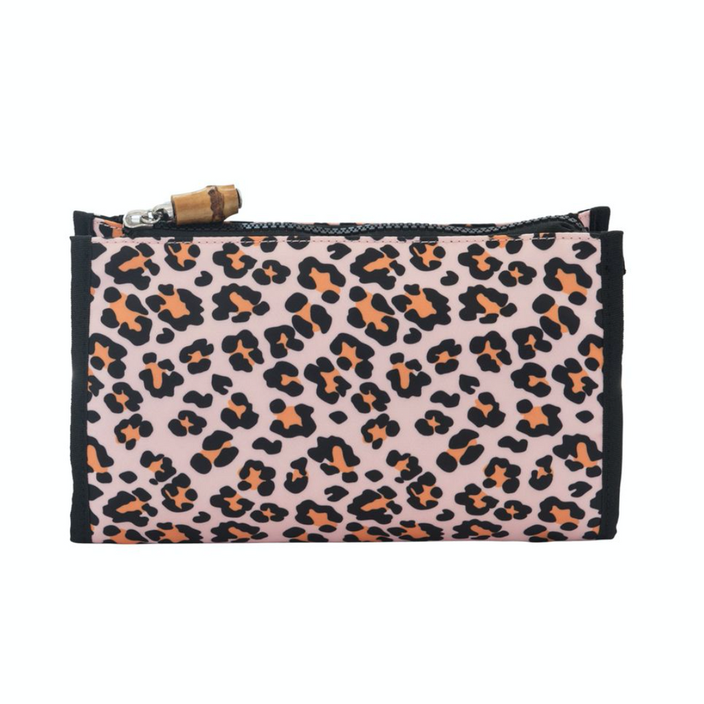 Day Tripper Cosmetic Case | Cheetah