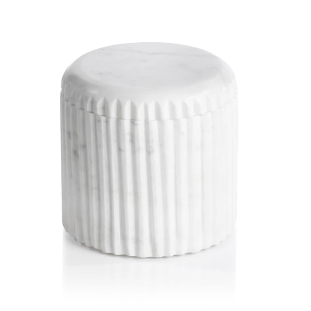 Marmo Marble Lidded Container