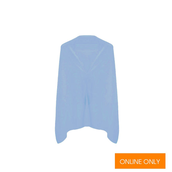 Cashmere Dress Topper | Sky