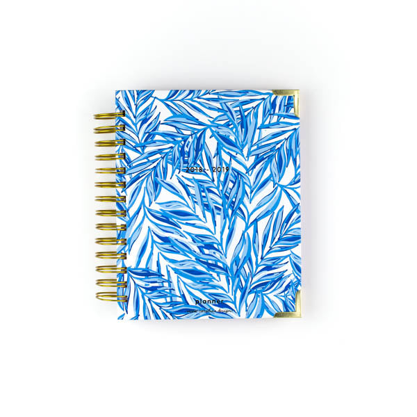 Blue Leafy Planner | Small