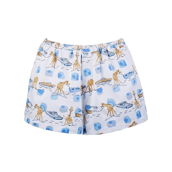 Sleep Shorts | Waterski Giraffe xx Evelyn Henson