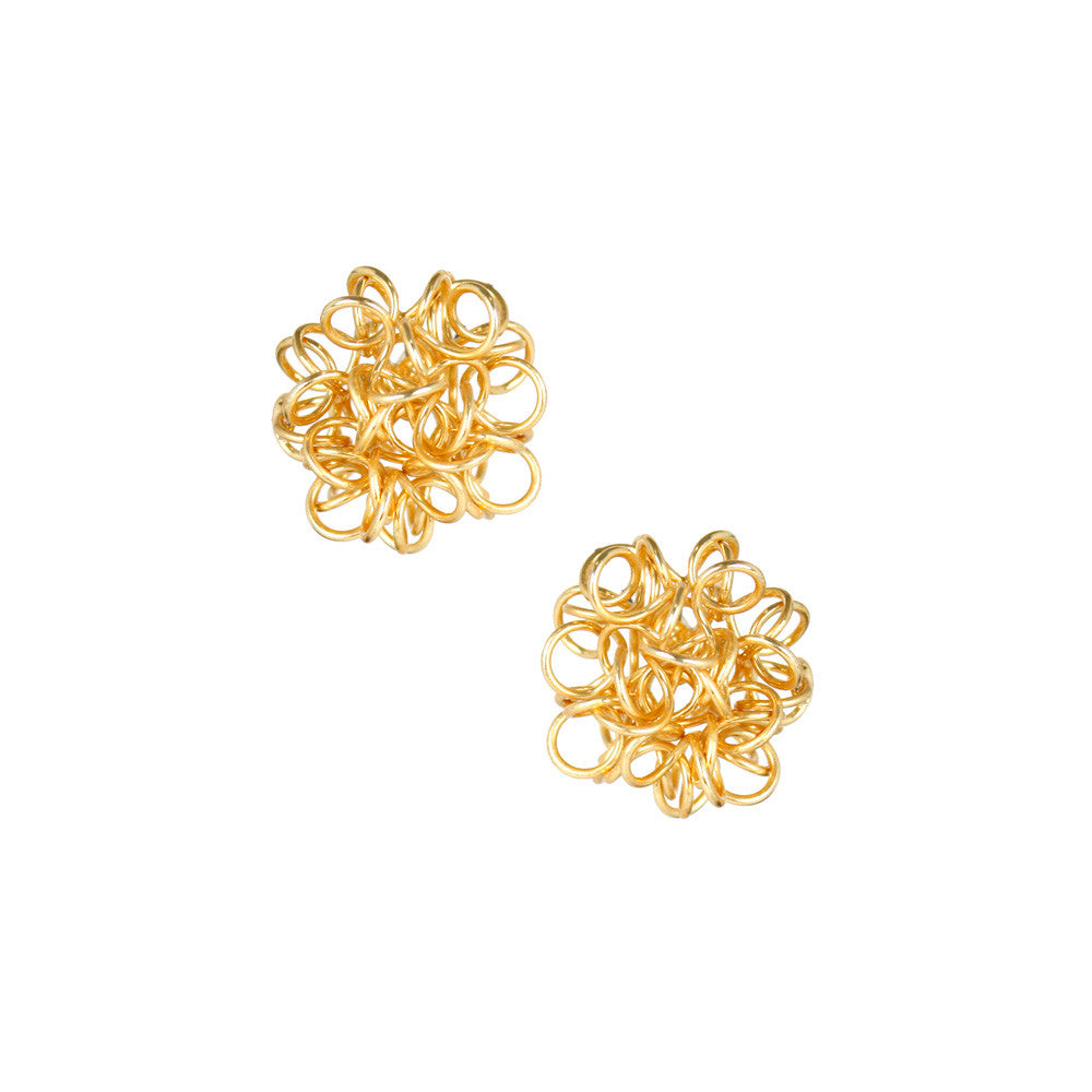 Lisi Lerch Gold Why Not Earrings - thegrovewp