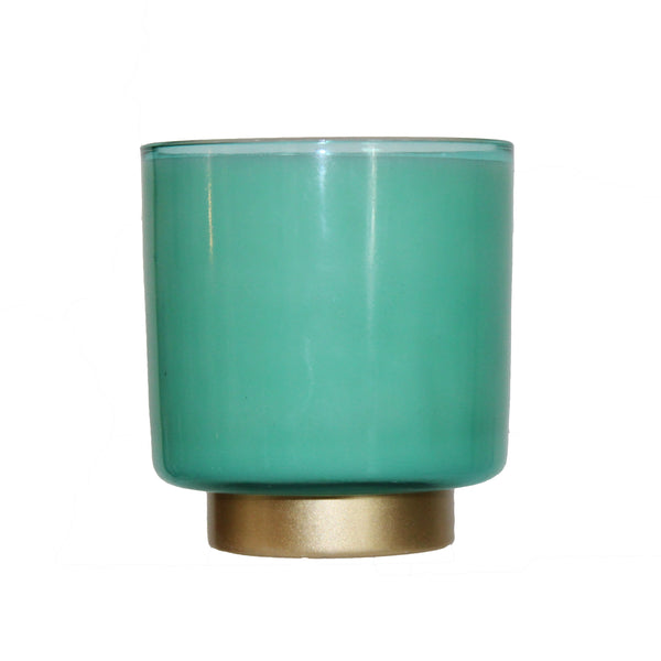 Zoe Candle | Turquoise-Winter Park Candle-The Grove