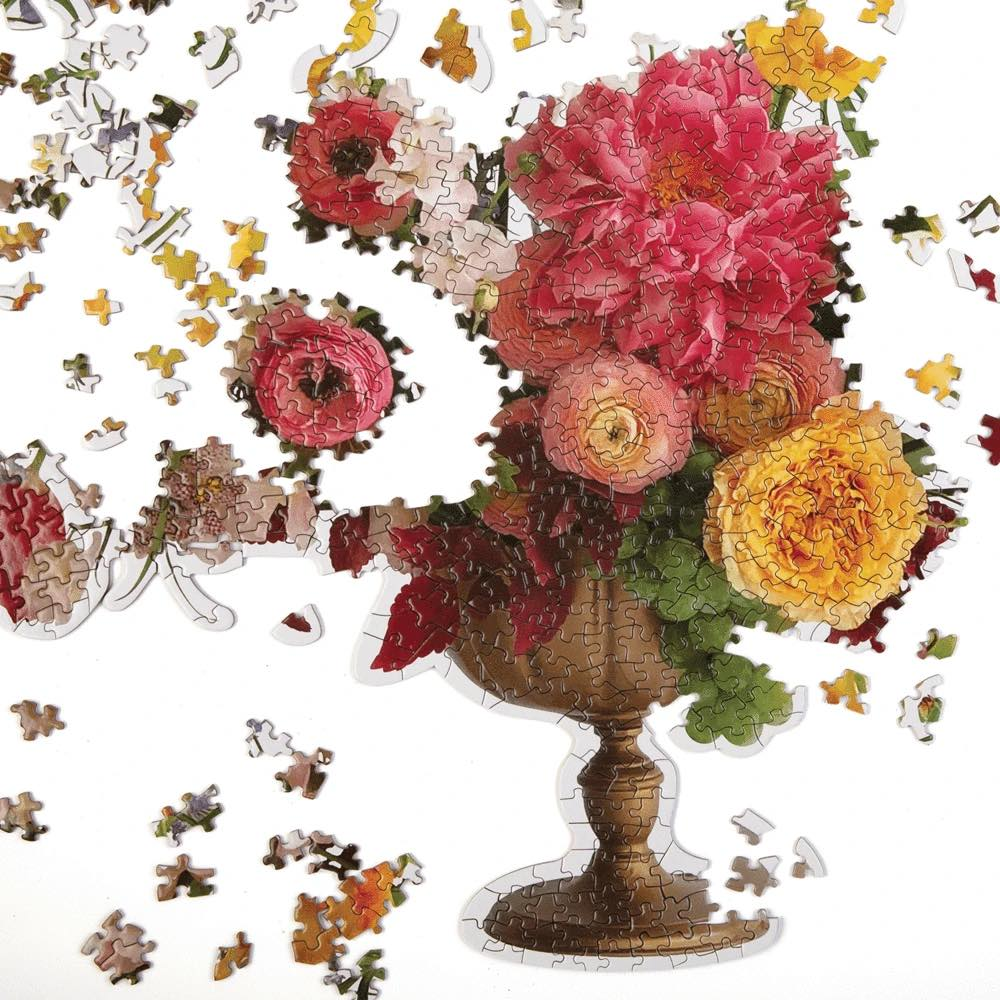 Ashley Woodson Bailey Bouquet Shaped Puzzle