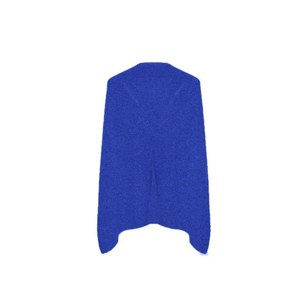 Cashmere Dress Topper |  Cruise Blue