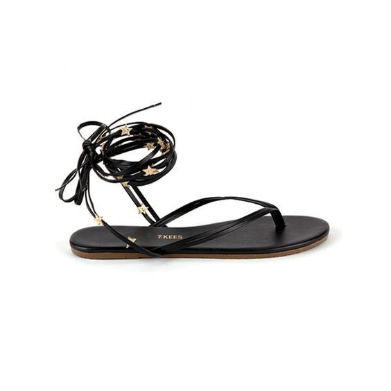 TKEES TKEES Lily Wrap Sandals - thegrovewp