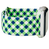 Green and Navy Plaid Apple Watch Band